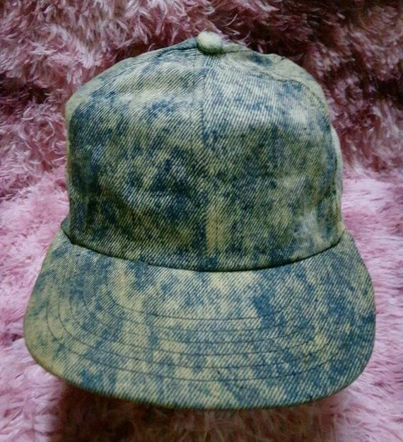 Vintage Denim Made In U.S.A Cap Hat