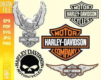 Harley Davidson Svg Etsy
