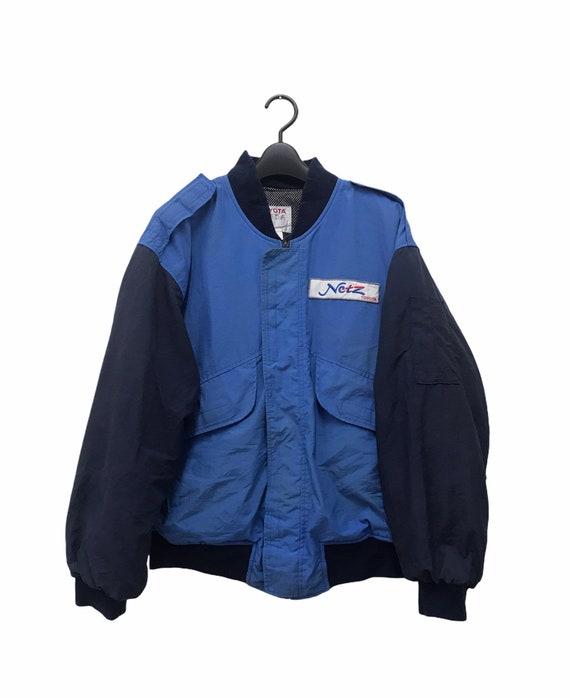 Toyota Blue Bomber Jacket