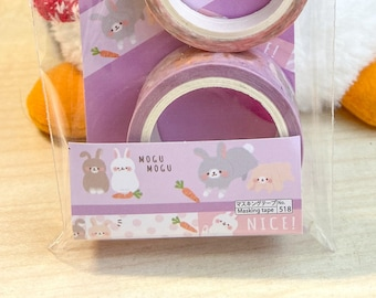 scrapbooking crafting Daiso card making hobonichi For planners bujo journaling Kawaii Hamster Fluffy Friends Washi Tape journals