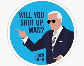 "/""BIDEN SUCKS/"" 25-500 Pack political stickers joe decals election SLEEPY kamala"