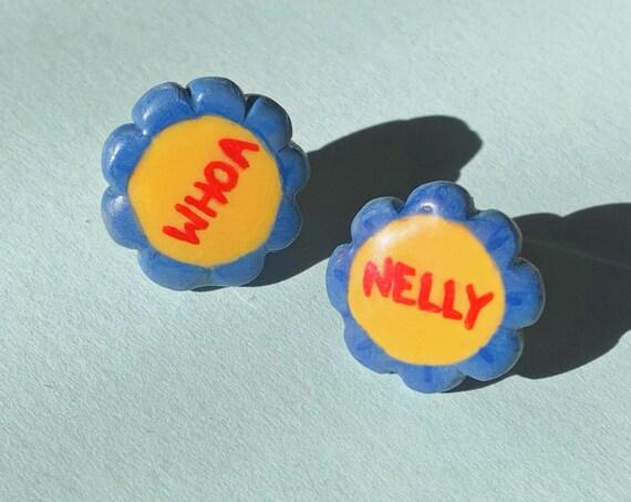 Whoa Nelly Flower Earrings