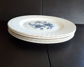 Vintage Wedgwood china Queens Ivory farmhouse table setting