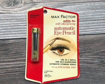 Vintage Max Factor Automatic Eyeliner/ Eyebrow Pencil Refils. Original Packaging