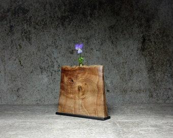 Vase elm wood untreated