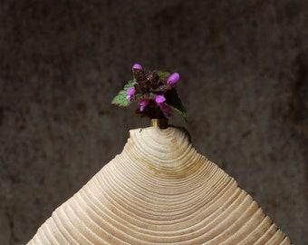 Vase ash wood