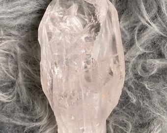 M Natural Lemurian Quartz Crystal | LE6