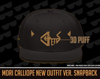 Hololive EN - Mori Calliope New Outfit Ver. Cosplay Snapback [3D Puff]