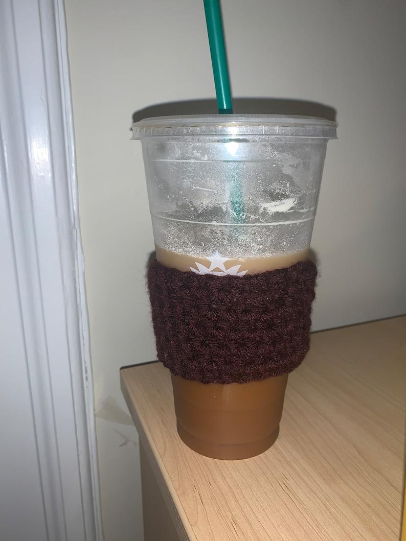 Handmade coffee cozie image 0