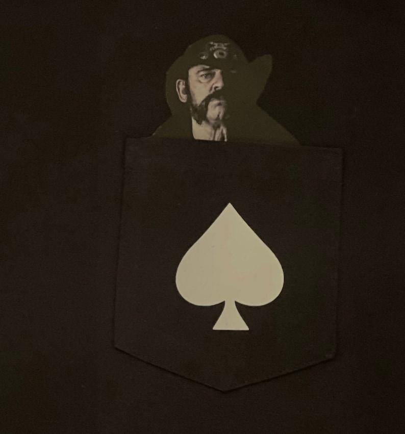 Motorhead Lemmy Ace Of Spade Pocket T-Shirt
