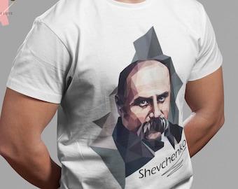 Ukrainian Shirt - Hero Taras Shevchenko - Ukrainian Diaspora - Glory to Ukraine emblem Tshirt -Ukraine Tryzub Tee -Ukraine Flag T-shirt