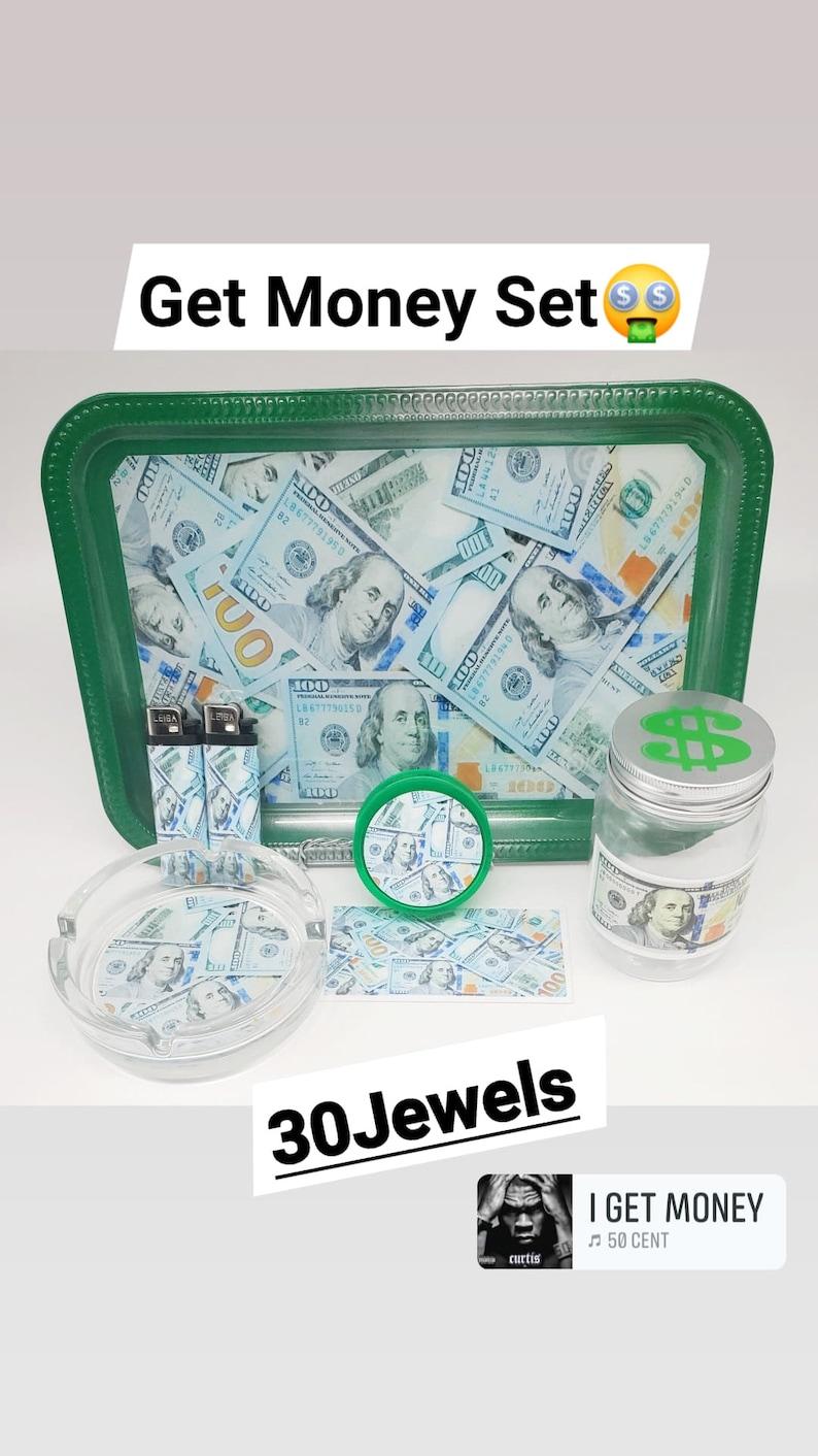 Get Money Rolling Tray Set