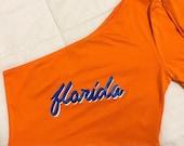 Florida One-Shoulder Crop Top - University of Florida