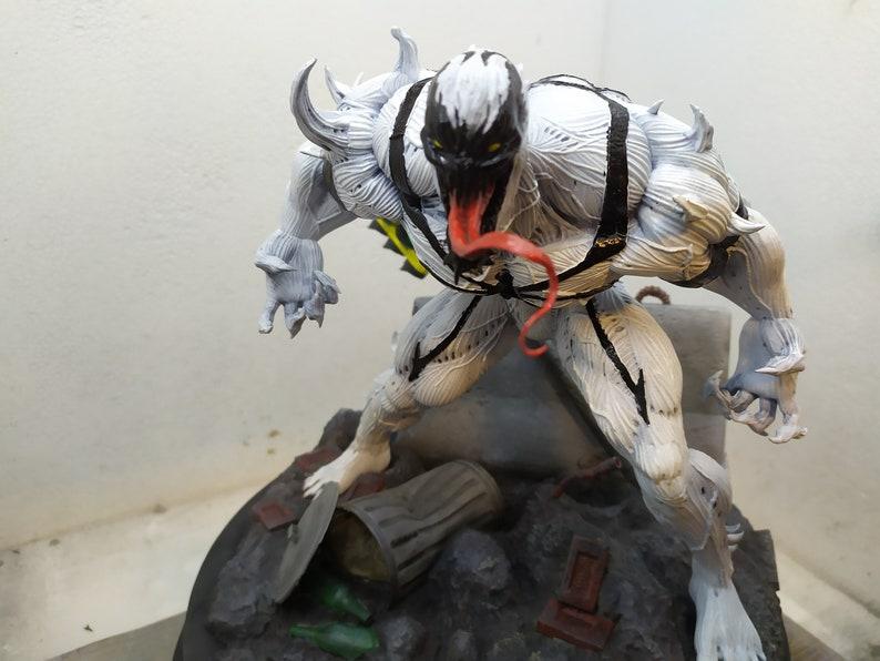 Anti Venom 3d printed and painted