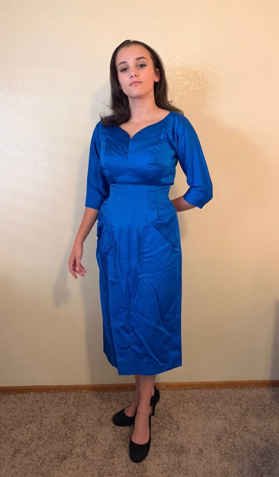 1950's Vintage Royal Blue Neal of California Dita