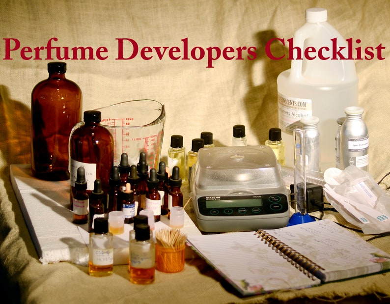 Perfume Production Checklist image 0