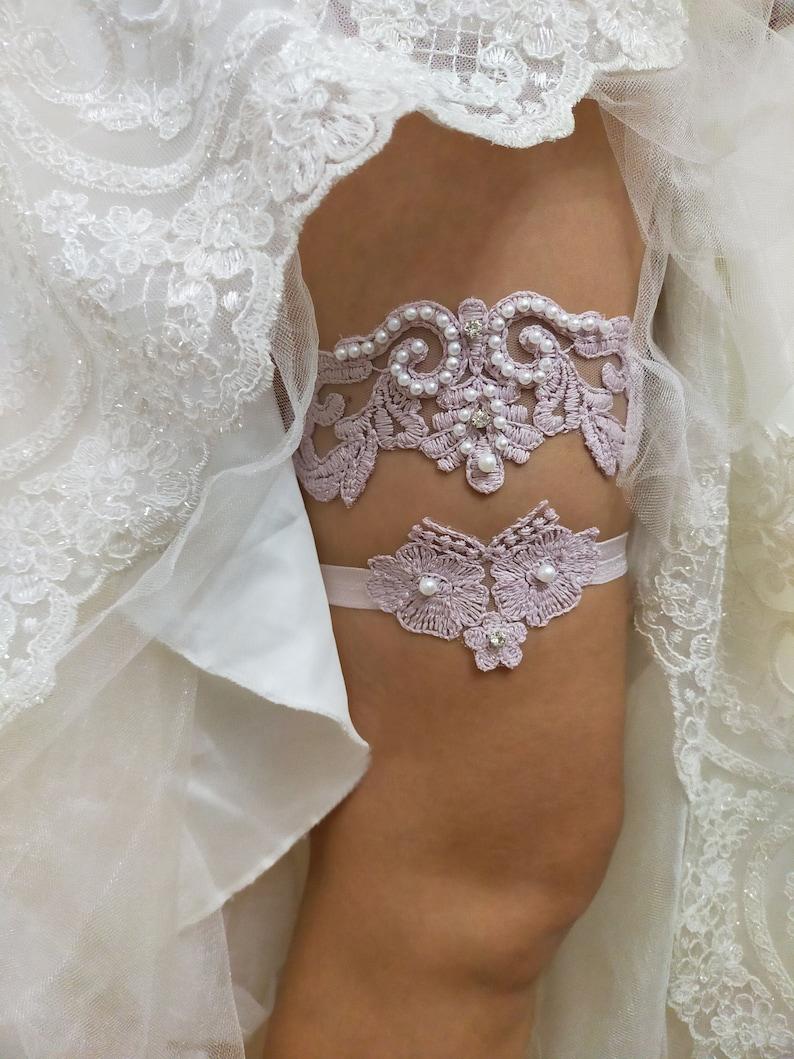 Handmade Beaded Embroidered Garter Wedding Floral Garter Set Bridal Gartr Pink Lace Garter Lace Garter Bridal Garter Beaded Garter