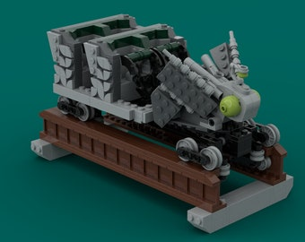 Untamed MOC (INSTRUCTIONS ONLY)