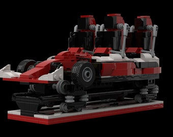 Red Force MOC (INSTRUCTIONS ONLY)