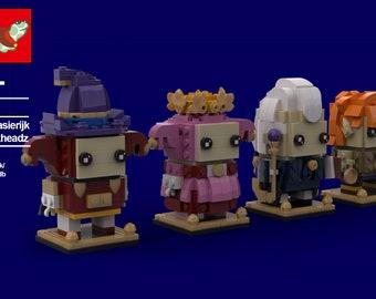 Fantasierijk Brickhead Set MOC (INSTRUCTIONS ONLY)