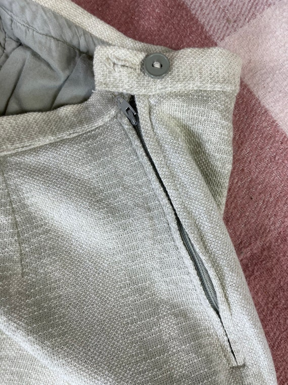 "Vintage 1960s 24"" waist/ high waist / side zip kn… - image 6"