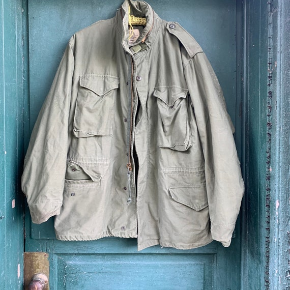 1960s OG-107 Field Jacket Size Large/Reg