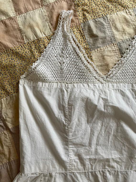 Vintage 1930s - 1940s All Cotton Slip Size M/L