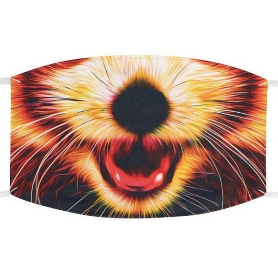 Facemask- Red Panda Furry Animal