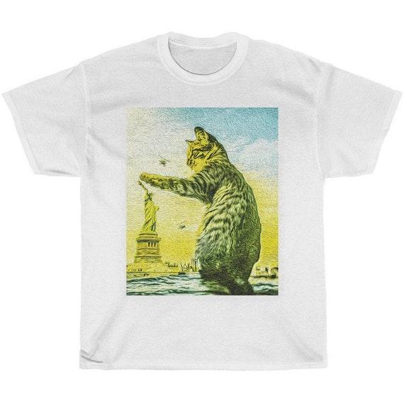 Kitty Paws Statue of Liberty Shirt