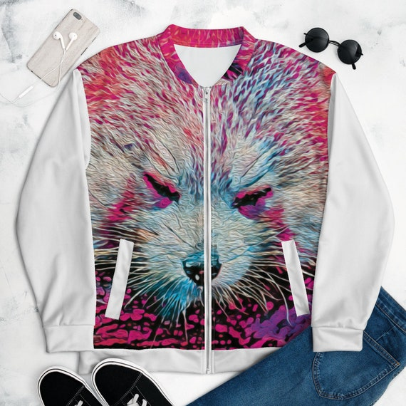 Lightweight Jacket- Purple Panda