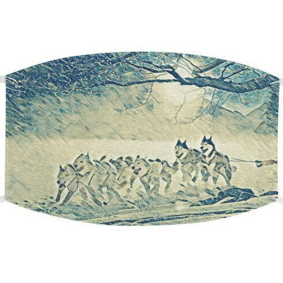 Facemask- Sled Dogs Pull