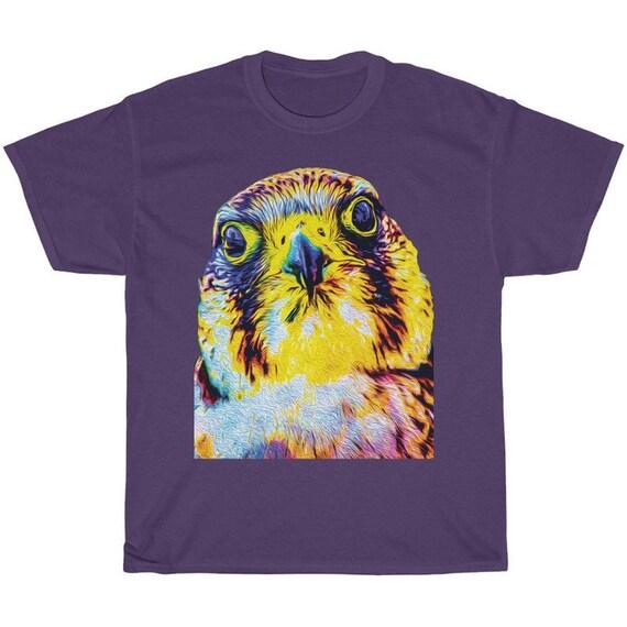 Colorful Crazy Purple Bird Shirt