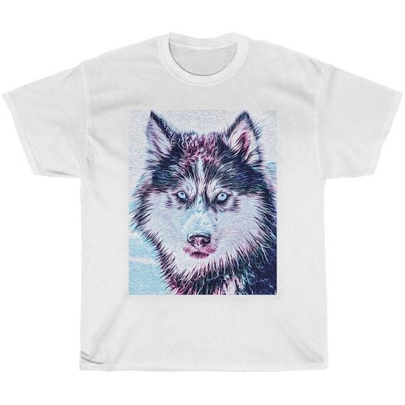Majestic Wolf  Print  Shirt