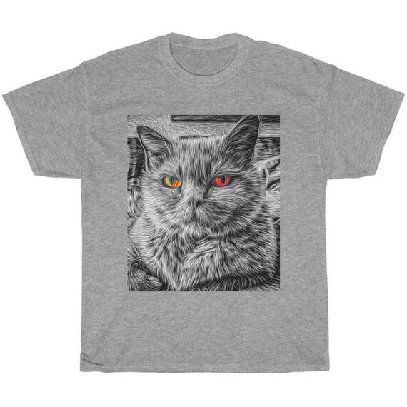 Evil Kitty Cat Considers World Domination Shirt