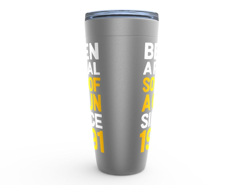 1991 Tumbler Birthday Gift for Men 30 Birthday Gift for Him 1991 Birthday Cup for 30 Year Old Son Funny 30th Birthday Gift for Boyfriend
