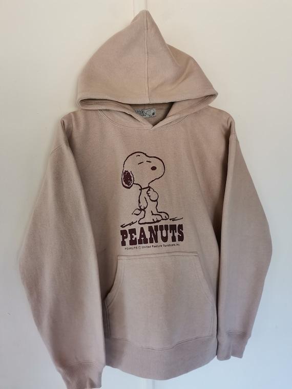 Peanuts Snoopy Sweatshirt Hoodie Big Logo