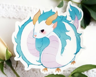Haku Dragon Etsy