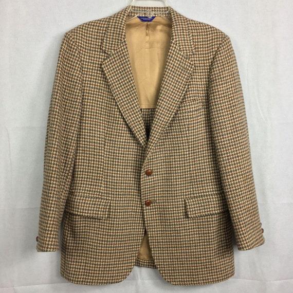 Pendleton Vintage 1980s Beige Tweed Wool Hunting J