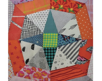 Christmas cards and decorations quilting rulers and templates stencill paper piecing 4mm acrylic Star quilting template set