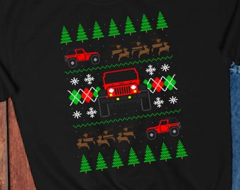 Jeep Ugly Christmas Sweater, Jeep Sweater for Men, Jeep Sweater Women, 2 Door Jeep Shirts for Him, Jeep Gifts for Dad, Jeep Gifts for Women