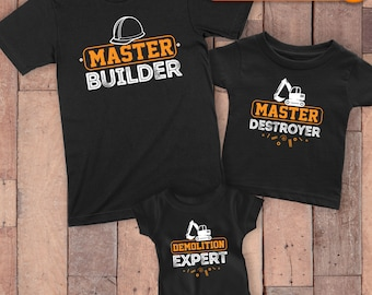 Dad Sons Matching Shirts - Father Son Shirts - Matching Dad And Son - Dad And Kid Shirts - Dad Baby Matching Outfit - Fathers Day Gifts
