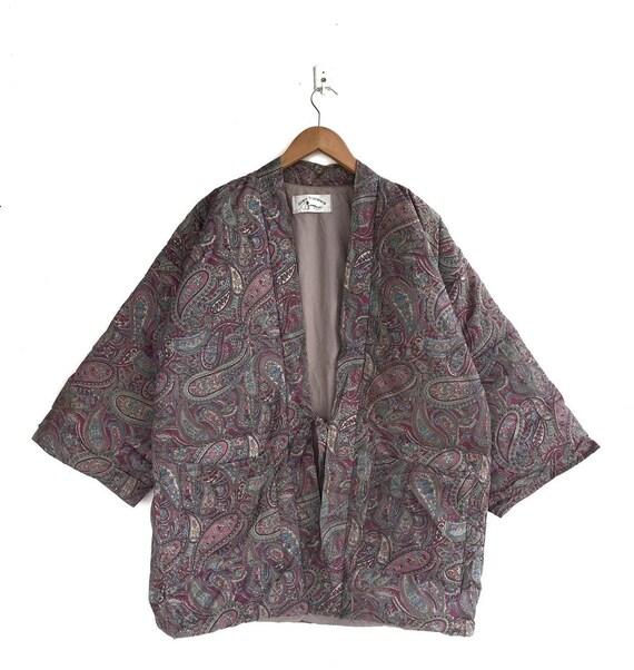 Japanese Traditional Kimono Bandana Paisley Down Q