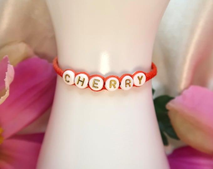 Harry Styles Cherry Fine Line Bracelet