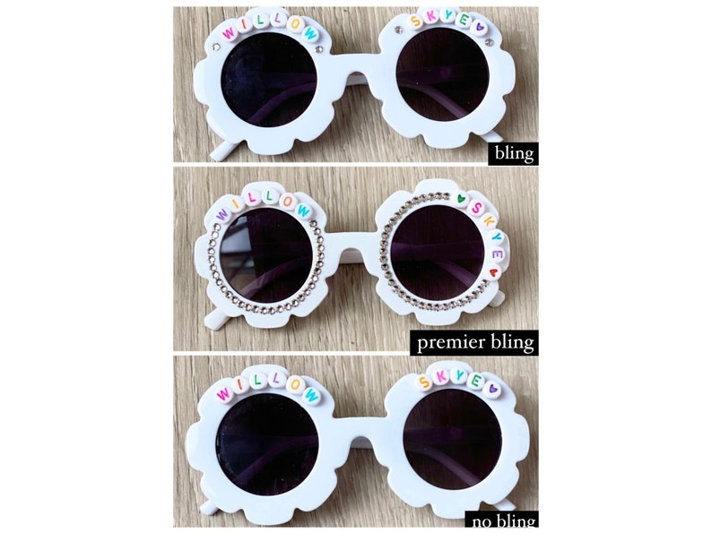 Personalized Custom Flower Sunglasses for Babies Toddlers and image 0