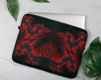 Red Flames Laptop Sleeve