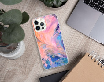 Multi Marble Effect iPhone Case