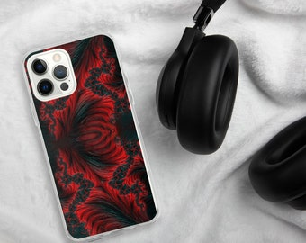 Red Flames iPhone Case