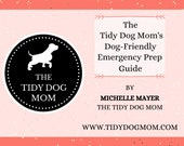 INSTANT DOWNLOAD PRINTABLE| Dog Friendly Emergency Prep Workbook Guide for Dog Moms and Lovers