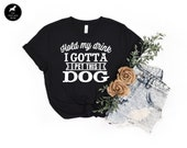 Hold My Drink I Gotta Pet This Dog Dog Mom Tee Gift For Dog Lover, Fur Mama Cute Dog Shirt, Funny Dog Mom Gift For Her