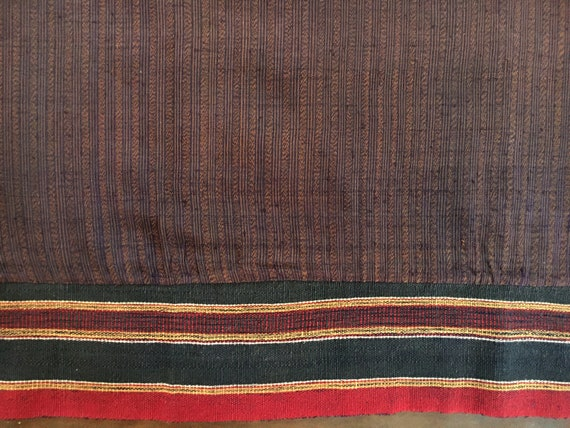 Mudmee Ikat Thai Sarong Cotton Silk Waist Band Han